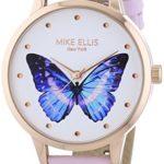 PARADISE by MIKE ELLIS Damen-Armbanduhr Analog Quarz Leder SL4-60229C B00LVW1R7G