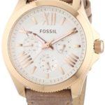 Fossil Damen-Armbanduhr Cecile Multifunktion Analog Quarz Leder AM4532 B00I1S2W4A