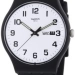 Swatch Herren-Armbanduhr XL Twice Again Analog Quarz Kautschuk SUOB705 B00EMUR0UW