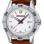 Wenger Damen-Armbanduhr XS Platoon Analog Quarz Leder 01.9211.101 B00DIT2F4O