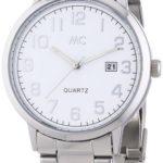 MC Timetrend Herren-Armbanduhr Analog Quarz Metallband 27180 B00IMB4MOO