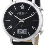 Mike Ellis New York Herren-Armbanduhr Analog – Digital Quarz Leder M2940SU/1 B00DIR7LSQ