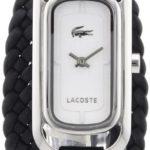 Lacoste Damen-Armbanduhr Analog Quarz Leder 2000738 B00BQ8EMP4