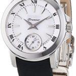 Seiko Damen-Armbanduhr XS Premier Analog Quarz Textil SRKZ63P1 B00MCBFPOQ