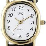 MC Timetrend Damen-Armbanduhr Analog Quarz Leder 15850 B002PHLW9E