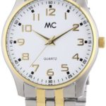 MC Timetrend Herren-Armbanduhr Analog Quarz Edelstahl 27356 B00GGGODIW