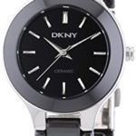 DKNY Damen-Armbanduhr XS Analog Quarz Keramik NY4887 B003JLBZ0G
