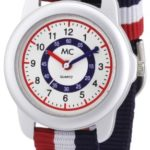 MC Timetrend Unisex-Armbanduhr Lernuhr Quarz Textil 50437 B009729RLU
