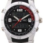 MC Timetrend Herren-Armbanduhr Analog – Digital Quarz Metallband 30342 B004JHY3OE