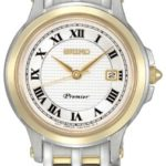 Seiko Damen-Armbanduhr XS Metallband Damen Analog Quarz Edelstahl beschichtet SXDE02P1 B005FQWJNU
