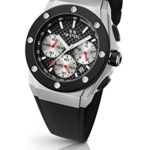 TW Steel Unisex-Armbanduhr CEO Tech David Coulthard Edition Chronograph Silikon Schwarz CE4019 B00JF10EI8
