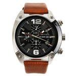 Diesel Herren-Armbanduhr XL Chronograph Quarz Leder DZ4296 B00DWIG4MA