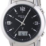 Mike Ellis New York Herren-Armbanduhr XL Analog – Digital Quarz Edelstahl SL4-60219A B00LNB0X7U