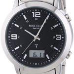 Mike Ellis New York Herren-Armbanduhr XL Analog – Digital Quarz Edelstahl SL4-60219A B00LNB0X7U