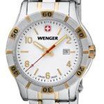 Wenger Damen-Armbanduhr XS Platoon Analog Quarz Edelstahl beschichtet 01.9211.105 B00DIT2SJQ