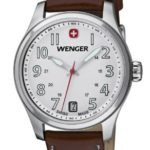 Wenger Damen-Armbanduhr XS Terragraph Analog Quarz Leder 01.0521.101 B008CDUA4S