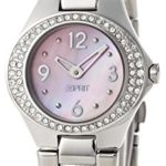 Esprit Damen-Armbanduhr Saturn Rose Analog Quarz Edelstahl ES103982002 B00BU07ATI