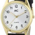 MC Timetrend Herren-Armbanduhr Analog Quarz Leder 23685 B00AEJA9FI