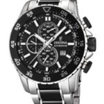 Festina Sport Chrono Keramik Herren Uhr Schwarz F16628/3 B009L4OH8M