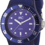MC Timetrend Unisex-Armbanduhr Happy Time Analog Quarz Kunststoff blau 27372 B008F5FZMU