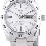 Seiko Damen-Armbanduhr XS Seiko 5 Analog Automatik Edelstahl SYMG35K1 B002YVTY8C