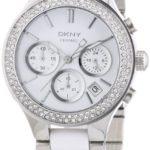 DKNY Damen-Armbanduhr Chronograph Quarz verschiedene Materialien NY8181 B004NBXX8I