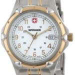 Wenger Womens 70609 Standard Issue White Dial Two-Tone Armbanduhr B000HDJC9A