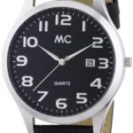 MC Timetrend Herren-Armbanduhr Analog Quarz Leder 27670 B00IMB4MV2