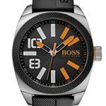 BOSS Orange Herren-Armbanduhr XL London  XXL Analog Quarz Silikon 1513110 B00KXWZHU8