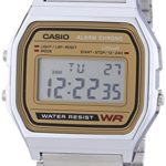 Casio Collection Herren-Armbanduhr Digital Quarz A158WEA-9EF B005FEY412