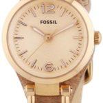 Fossil Damen-Armbanduhr XS Georgia Mini Analog Quarz Leder ES3262 B00CGAH77G