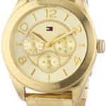 Tommy Hilfiger Watches Tommy Hilfiger Damen-Armbanduhr Sport Luxery Analog Quarz Edelstahl beschichtet 1781214 B0082A0NIY