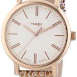 Timex Damen-Armbanduhr Originals Classic Round Analog Quarz Leder T2P325 B00IMH23QW