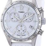 Timex Damen-Armbanduhr Style Chronograph Quarz Silikon T2P061 B00AC5T9GO