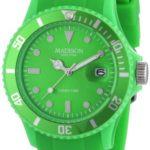 MDWJ5|#Madison New York Madison New York Unisex-Armbanduhr Candy Time Analog Silikon grün U4167-10/2 B005L8YXYA
