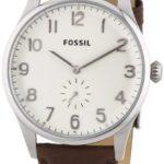 Fossil Herren-Armbanduhr XL The Agent Analog Quarz Leder FS4851 B00GPLOWLQ