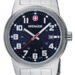 Wenger Damen-Armbanduhr XS Field Classic Analog Quarz Edelstahl 72926W B00ENZXBK4