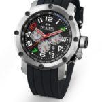 TW Steel Unisex-Armbanduhr Chronograph kautschuk schwarz TW608 B007BY4XF6