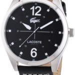 Lacoste Herren-Armbanduhr XL Analog Quarz Leder 2010695 B00E8MDN6O
