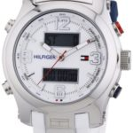 Tommy Hilfiger Watches Tommy Hilfiger Herren-Armbanduhr Cool Sport XL Analog – Digital Quarz Silikon 1790946 B00ENWSFT4