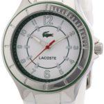Lacoste Damen-Armbanduhr Analog Quarz Silikon 2000755 B00C6TS24Y