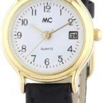 MC Timetrend Damen-Armbanduhr Analog Quarz Leder 17866 B00IMB4AG4