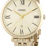 Fossil Damen-Armbanduhr Jacqueline Analog Quarz Edelstahl beschichtet ES3434 B00FORYRLC