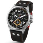 TW Steel Unisex-Armbanduhr Pilot Sonder Edition Chronograph Quarz Leder TW-432 B00GTPYGWS