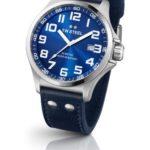 TW Steel Damen-Armbanduhr XL Pilot Analog Quarz Leder TW-400 B00CRBI5EI