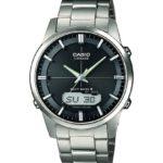 Casio Herren-Armbanduhr XL Radio Controlled Analog – Digital Quarz Titan LCW-M170TD-1AER B00IF3KDT2