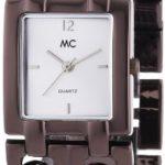 MC Timetrend Damen-Armbanduhr Analog Quarz Metallband 50273 B00IMB4AO6