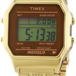Timex Unisex-Armbanduhr Classic Digital Quarz Edelstahl TW2P48700 B00N7F8SU4