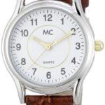 MC Timetrend Damen-Armbanduhr Analog Quarz Leder 16782 B001W0Y526