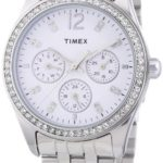 Timex Damen-Armbanduhr XS Timex Style Kaleidoscope Women Analog Quarz Edelstahl T2P192 B00FVXDALW